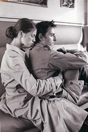 Charlotte Gainsbourg & Yvan Attal, Elle Magazine (Japan Issue), March 2003