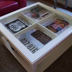 How a Shadow Box Table Can Add Pizazz to your Living Room. By Cozy contributor partybuzz. http://www.squidoo.com/shadow-box-table