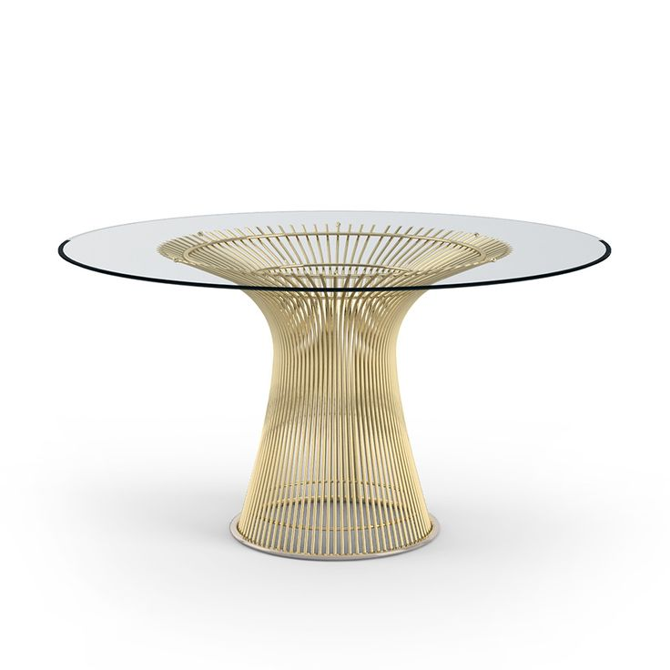 Platner Dining Table - Gold | For the Holiday Hosts | Holiday Gift Guide | Knoll