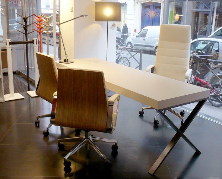 bureau lima avec fauteuils directa showroom 153 pinterest fauteuils et bureau. Black Bedroom Furniture Sets. Home Design Ideas