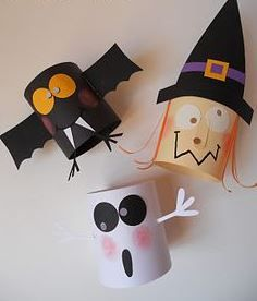Kids Halloween Crafts Construction Paper Activities For Little One