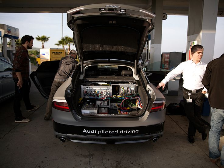 Palo alto, CA to Las Vegas, NV in a self-driving Audi @WIRED