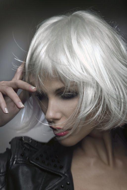 Luciano Colombo Hairstylist Milan  #whitehair #lucianocolombo - Hairstylist Milano - Hairstylist Milano #bob #hair #beauty #milan #white #silverhair