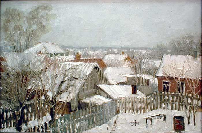 Андрей Мещанов  «Холодный апрель»