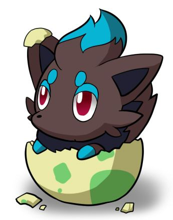 I found this on pokememes cute shiny zorua a for Boden pokemon