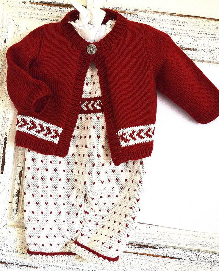 15 best Knitting Patterns for Baby's First Christmas images on ...