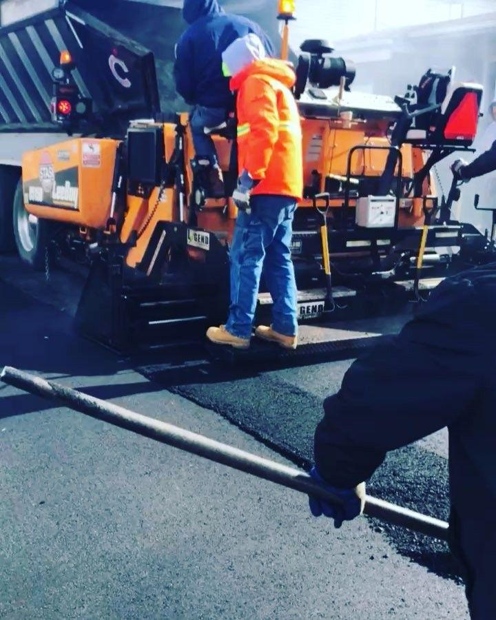 Paving the way.  #cesspool #drainage #asphalt #concrete #demolition #trucks #excavator #luxury #truckhire #stasi #stasipossi #samstasi #saltbae #foundations #miami #losangeles #nyc #construction #bytheton #savco #pipe #ferrari #lamborghini #bmw.  #pcblast.  #WEFILLHOLES