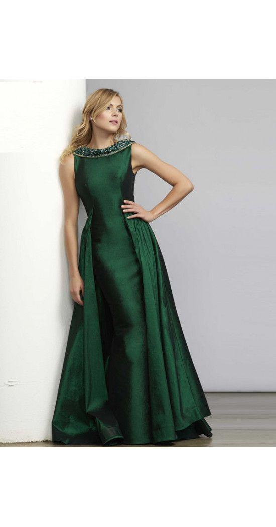 Kleid lang taft