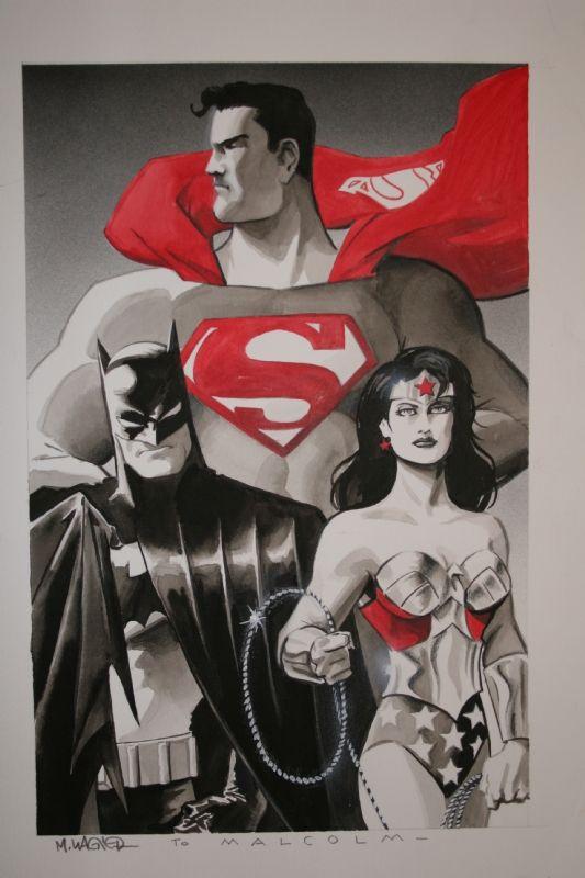 Matt Wagner - Trinity Comic Art