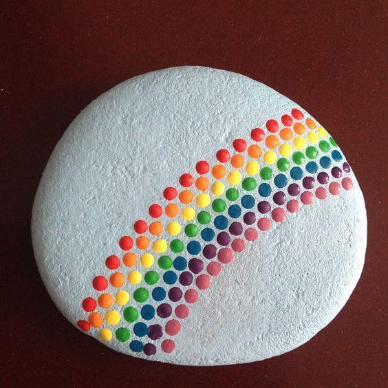 45 Ehrfürchtige gemalte Felsen  #ehrfurchtige #felsen #gemalte – DIY Kinderhandwerk Leicht
