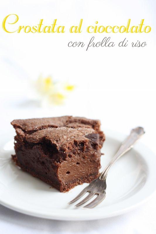 La ricetta della felicità: Crostata al cioccolato di Ernst Knam (o quasi....) senza glutine e buon 19 marzo!