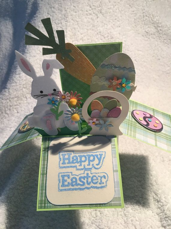 Easter 3D Box Card
