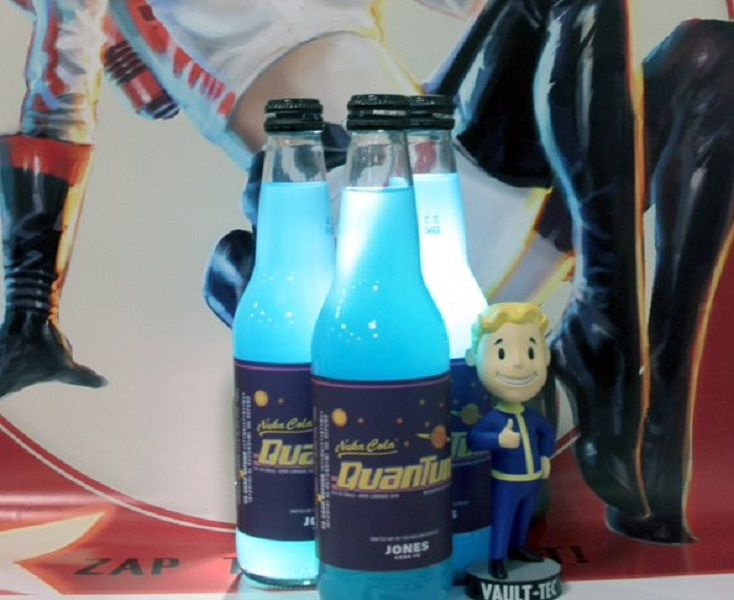 Nuka-Cola Quantum is coming to a store near you. Take out the RadAway -- this only looks like the real thing.