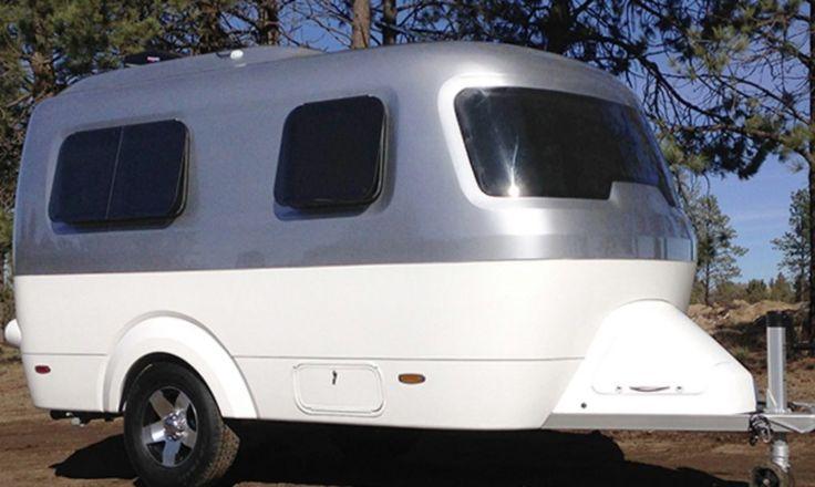 best 25 small lightweight travel trailers ideas on pinterest. Black Bedroom Furniture Sets. Home Design Ideas