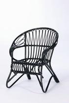 Tuote: Lumikenkä -tuoli musta Tuotenumero: A/310 Mitat: K.84 L.76 Ist.K.42 Ist.S.67