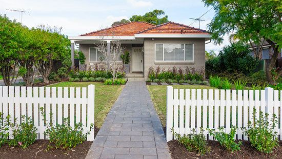 Cover up any well-worn tracks across your front lawn with a stylish pathway. This inviting and modern look will suit any home and is quite simple to lay.