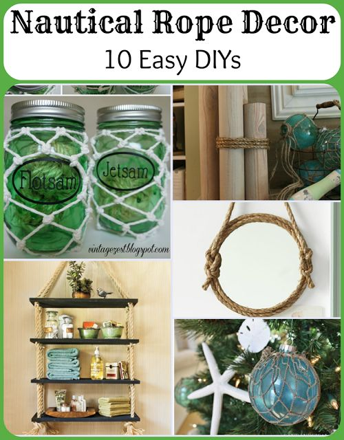 17 best ideas about rope decor on pinterest diy outdoor for Where to buy nautical rope for crafts
