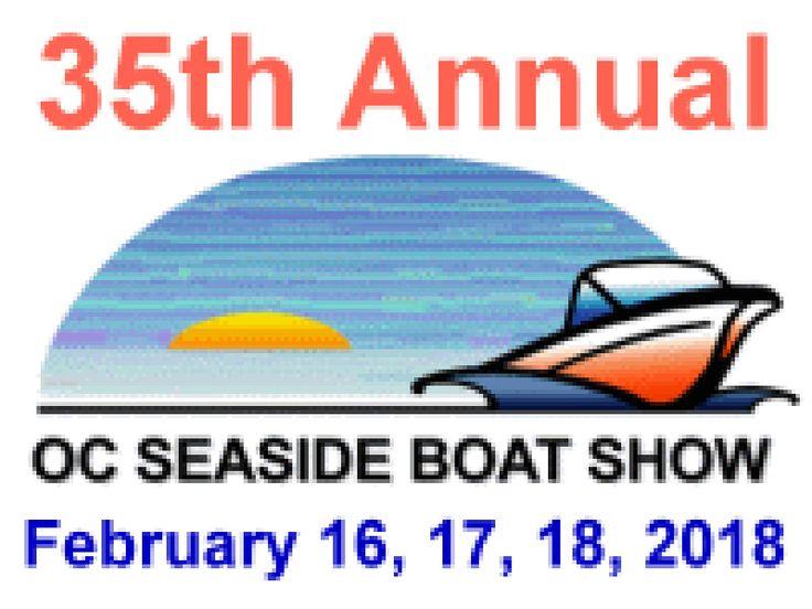 35th Annual Ocean City Seaside Boat Show, Learn More... #oceancitycool