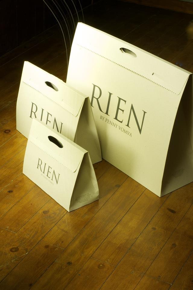 shopping bag/ www.rien.gr RIEN by Penny Vomva