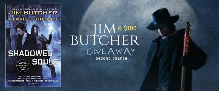 #JimButcher & $100 #GiftCard SECOND CHANCE #Giveaway #amreading  #DresdenFiles #UrbanFantasy #UF