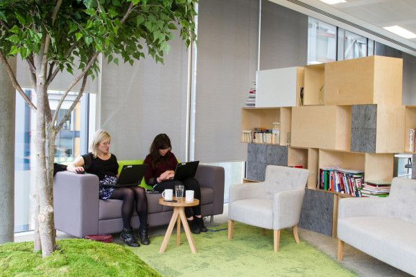 Peldon Rose Gives JustGiving Brand New, Multifunctional Offices