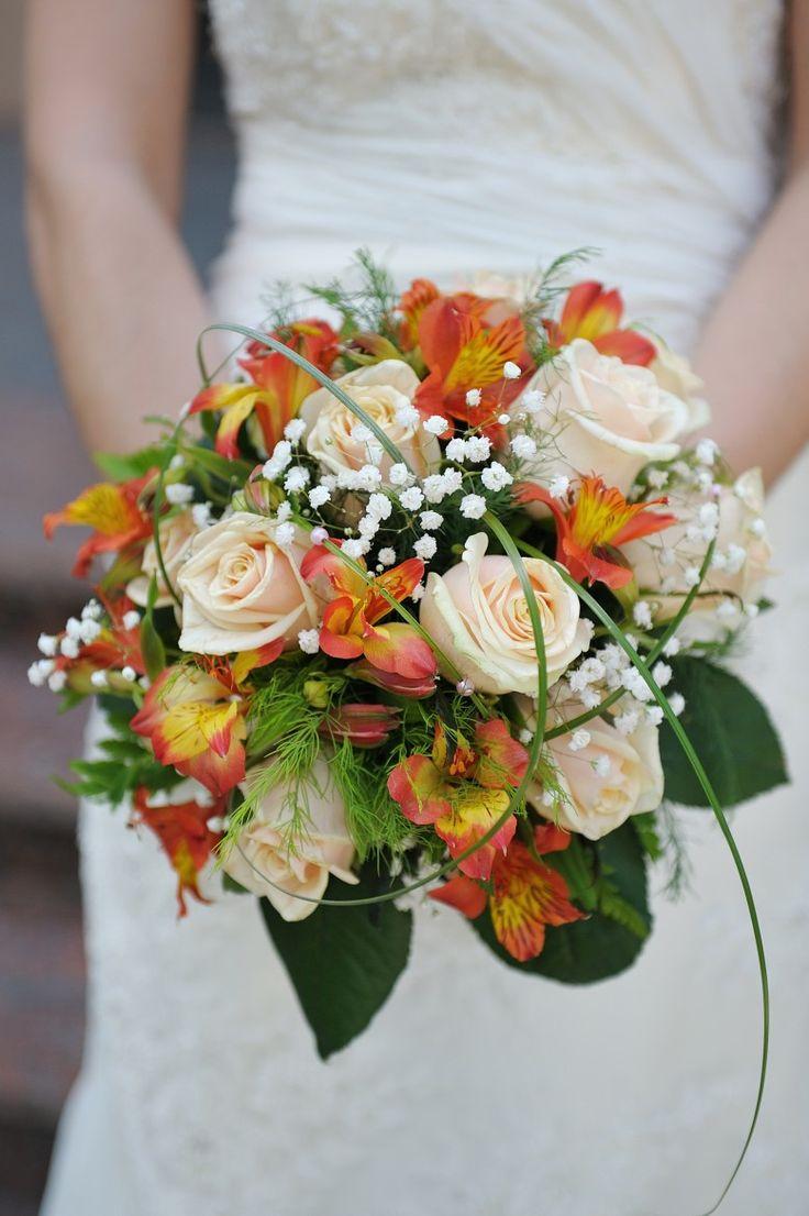 Bouquet de la mariée, mariage, bouquet de rose, Le jardin d'Andrée-Anne, www.lejardin.ca