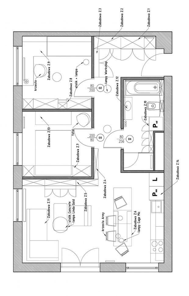 23 best plan appartement 60m2 images on pinterest floor for 60 sqm apartment design