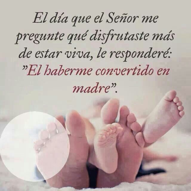 Sí, mi Grace lo más bello que Dios me ha podido enviar, ahora comprendo el amor de mi querida Madre por mi....
