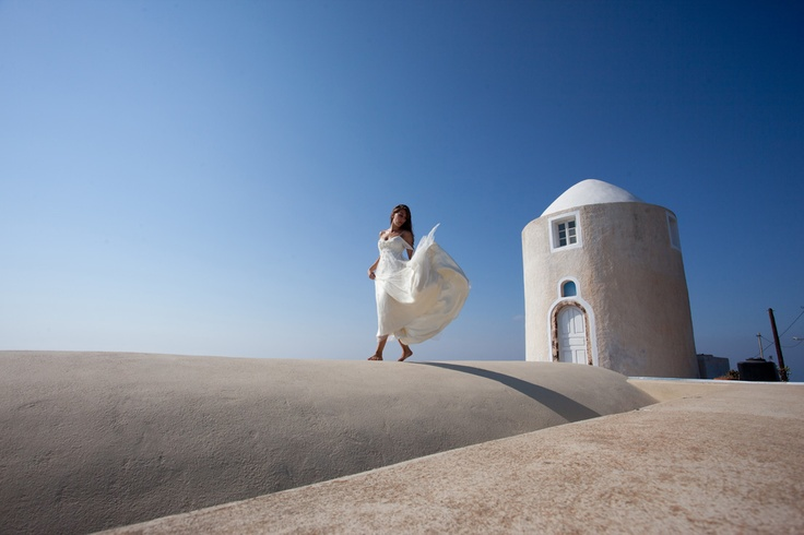 destination wedding in santorini island