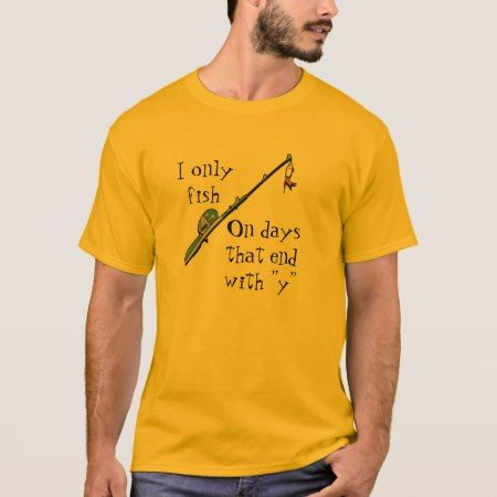 Gone Fishing T-Shirt - tap to personalize and get yours