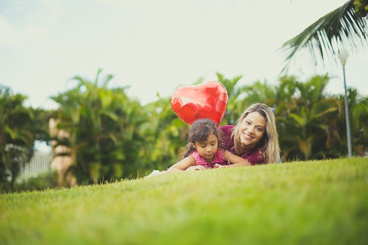 Ensaio para o Dia das Mães