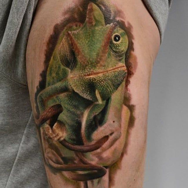 Chameleon Tattoo Finder: Image Result For Chameleon Tattoo