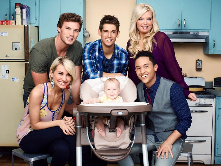 Ben Danny Tucker Bonnie Riley And Emma Baby Daddy Tv