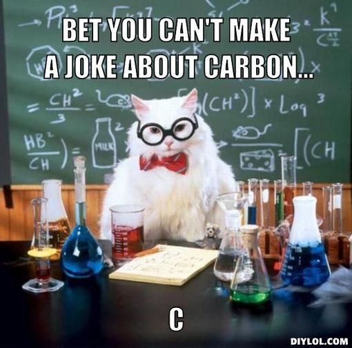 Periodic table puns are always fun!