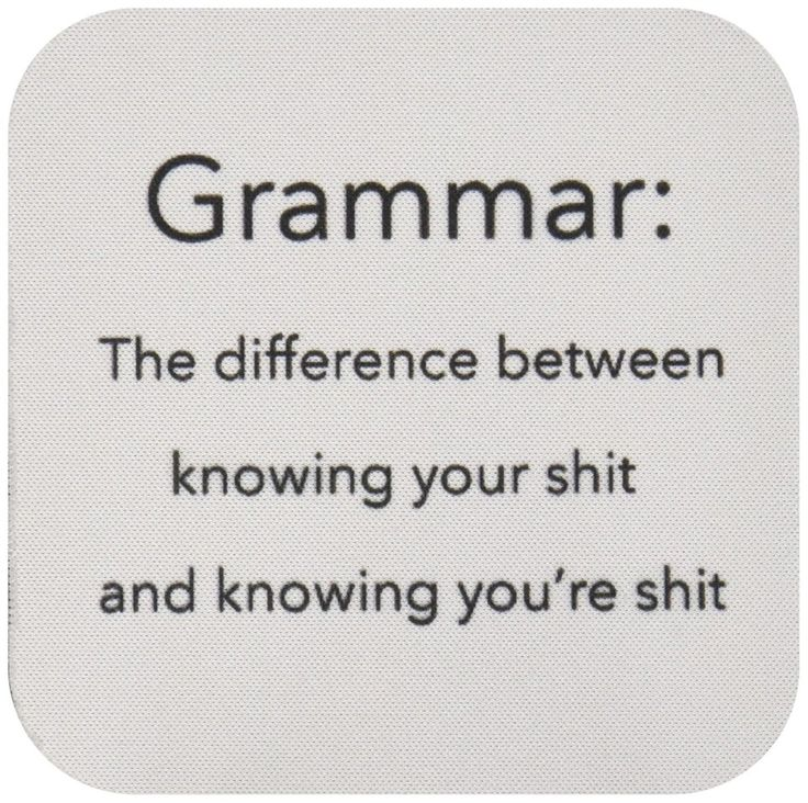 If bad grammar makes you <i>[sic]</i>, these are for you.