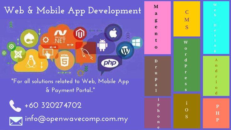 Web and Mobile App Development - http://www.openwavecomp.com.my/