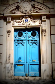 doors in every color. ah, paris.