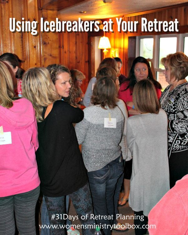Tips and Ideas for Using Icebreakers at Your Retreat from Women's Ministry Toolbox.