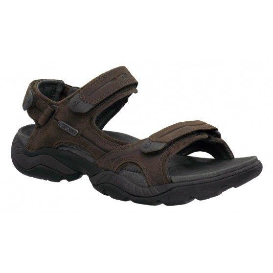 De @Teva  Obern #herensandalen zijn supercomfortabele #sandalen die bijna volledig van leer zijn gemaakt. De #Obern sandalen zijn stabiel en geven een heerlijke demping. #dws