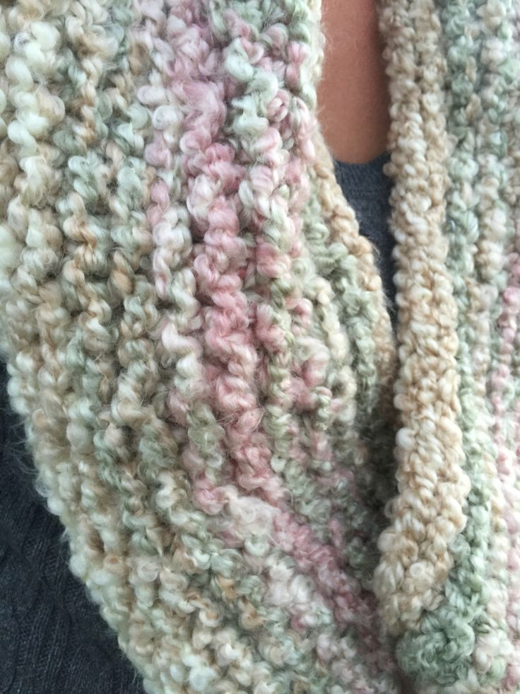 A personal favorite from my Etsy shop https://www.etsy.com/ca/listing/467414290/soft-knit-scarf-or-caplet