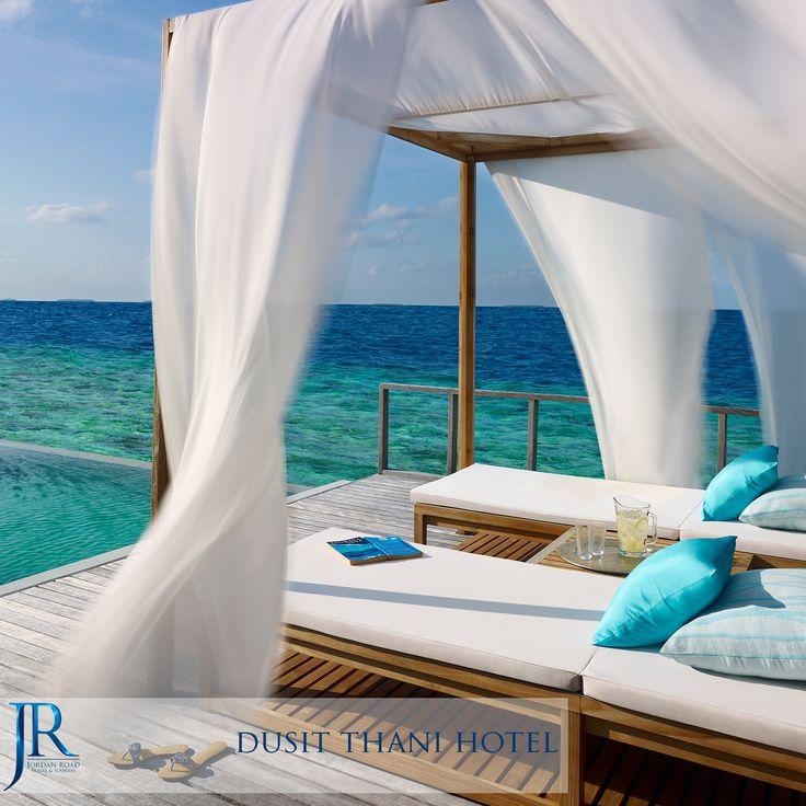 Dusit Thani Hotel   #Maldives #Travel #Jordan_Road #Honeymoon #Sea #Beach