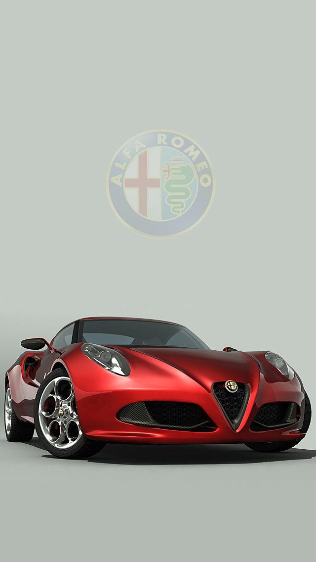 Alfa Romeo 4c Wallpaper Iphone Carro Pinterest Ca 231 As