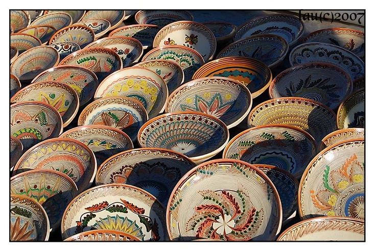 Romania - Pottery & Handicraft beautiful,,,  <3