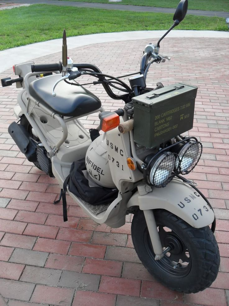 I am not into scooters but this one is something else… like ruckus | TotalRuckus • View topic - Military Scooter