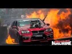 STRUGLIN sets everything on Fire at Summernats 28