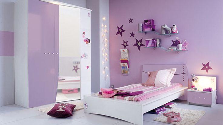 Notre gamme safir pour une chambre de fille d coration chambre pinterest - Pinterest chambre fille ...