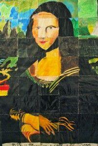 Giant Mona Lisa (Group Project)