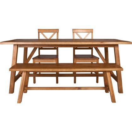 Canonbury Table Bench And 2 Chairs At Homebase Be Inspired Make Your House