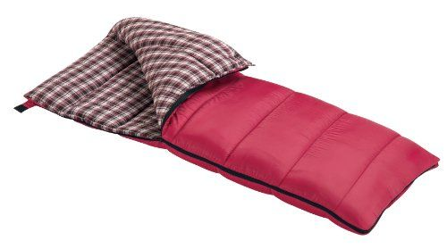 Wenzel Cardinal 30-Degree Sleeping Bag (Red)