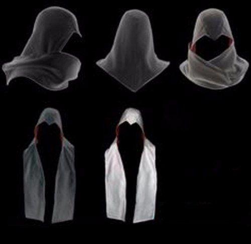 bufandas assassins creed varios colores ameyaltzin nacional
